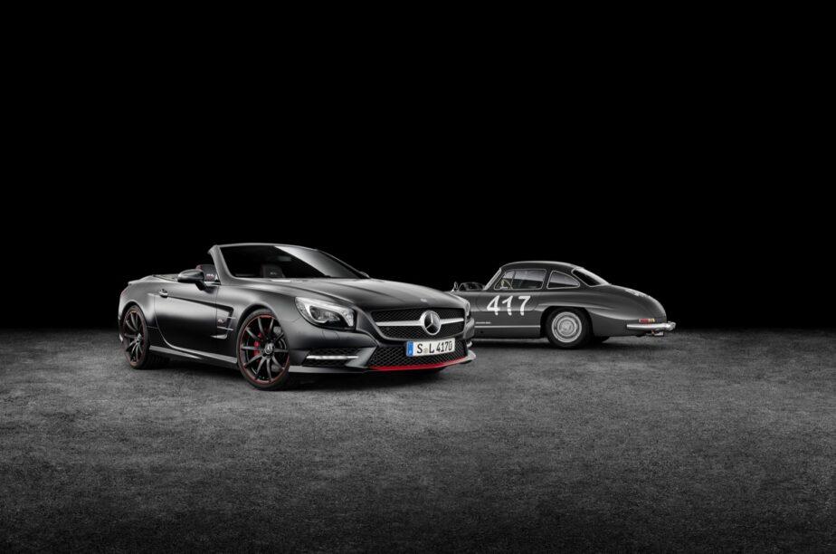 Nieuwe SL van Mercedes wordt serieus licht